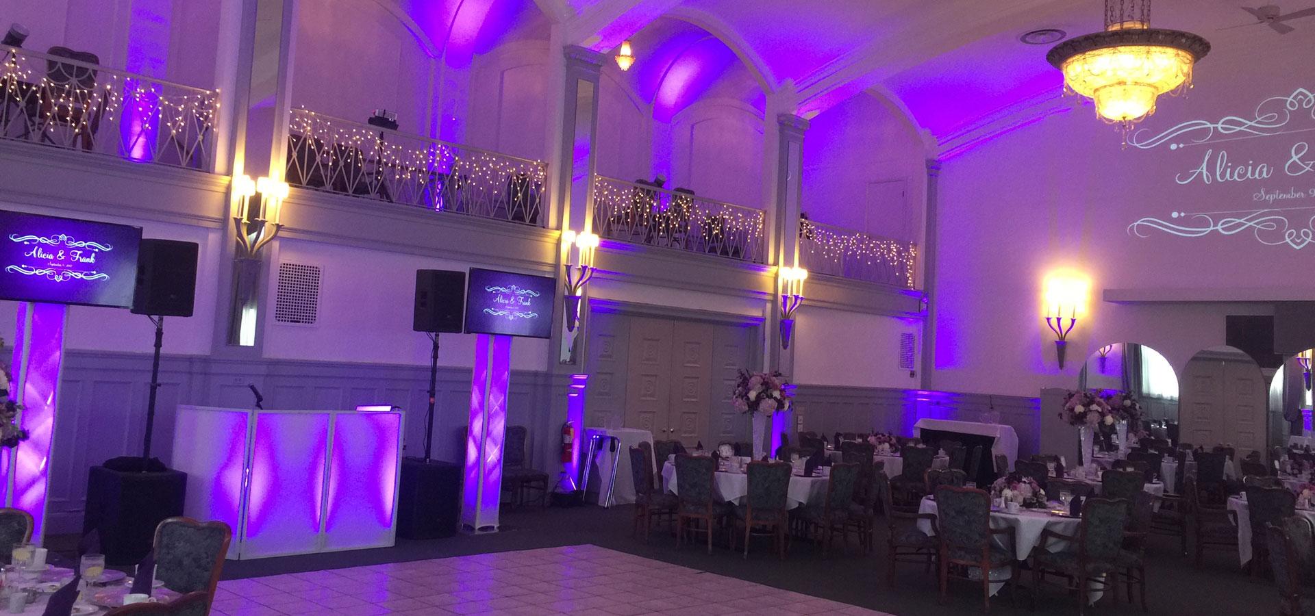 Binghamton-NY-Wedding-DJ-Uplighting-Monogram-Slider